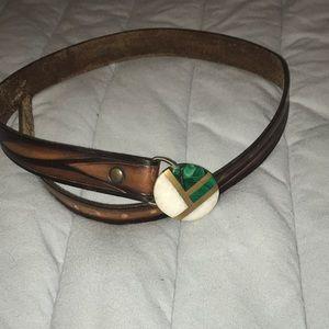 Thrifted Gem Belt